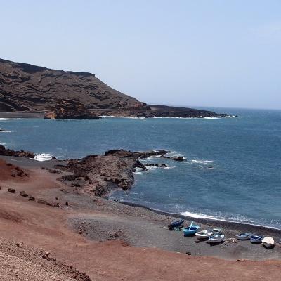 El Golfo - part of the village