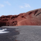 El Golfo - Charco de los Clicos - beautifull black beach