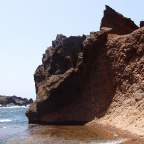 El Golfo - Charco de los Clicos - very far part of the beach ... not a lot people goes there ...